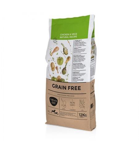 Pienso Natura Diet Grain Free Chicken & Vegetables sin cereales para perros