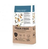 Pienso Natura Diet Grain Free Salmón y Coco sin cereales para perros adultos