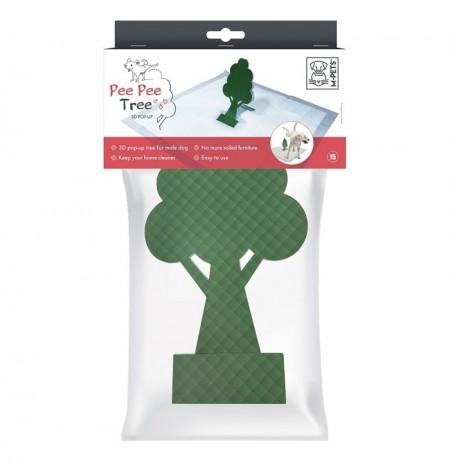 árbol educador de orina para perros pee pee tree m-pets